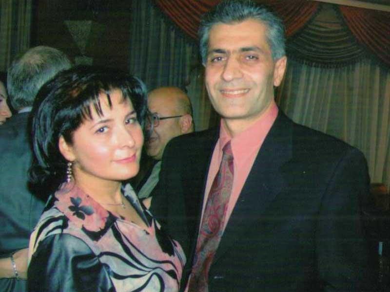 Տիկնոջս` Կարինեի հետ / С супругой Карине / With my wife Karineh