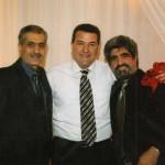 Ճանաչված ամերիկահայ երգիչներ Ներսիկ Իսպիրյանի և Հարութ (Ձախ) Փամբուկչյանի հետ / С известными певцами Нерсиком Испиряном и Арутом (Дзах) Памбукячном / With famous American-Armenian singers Nersik Ispiryan and Harout (Dzakh) (Pamboukchyan)