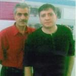 Գրող- հրապարակախոս Վահրամ Սահակյանի հետ / С писателем-публицистом Ваграмом Саакяном / With writer, speech-maker Vahram Sahakyan