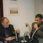 Փարիզի հայկական ռադիոյի տնօրեն Հակոբ Բալյանի հետ հարցազրույցի ժամանակ / Интервью с директором Армянского радио в Париже Акопом Баляном / With the head of Armenian Radio in Paris Hakob Balayan during the interview