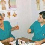 Որդուս, ֆիզիոթերապևտ-հոգեբան Ռաֆաելի հետ / С сыном, физиотерапевтом-психологом Рафаелом / With Rafael, my son, Physiotherapist and psychologist