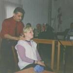 Ցուցադրական սեանս միջազգային գիտական կոնֆերանսում (Նունիսի) / Показательный сеанс на международной научной конференции (Нуниси) / Demonstrative massage performance in international scientific conference (Nonissue)