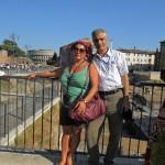 Հռոմում կնոջս հետ / В Риме с женой / In Rome with wife